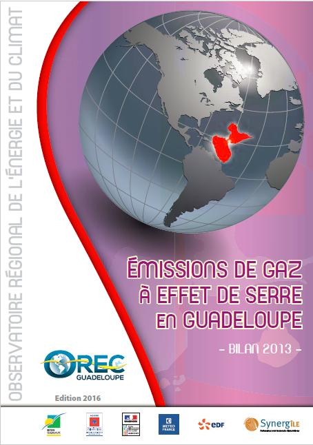 Émissions de Gaz à effet de serre – 2013
