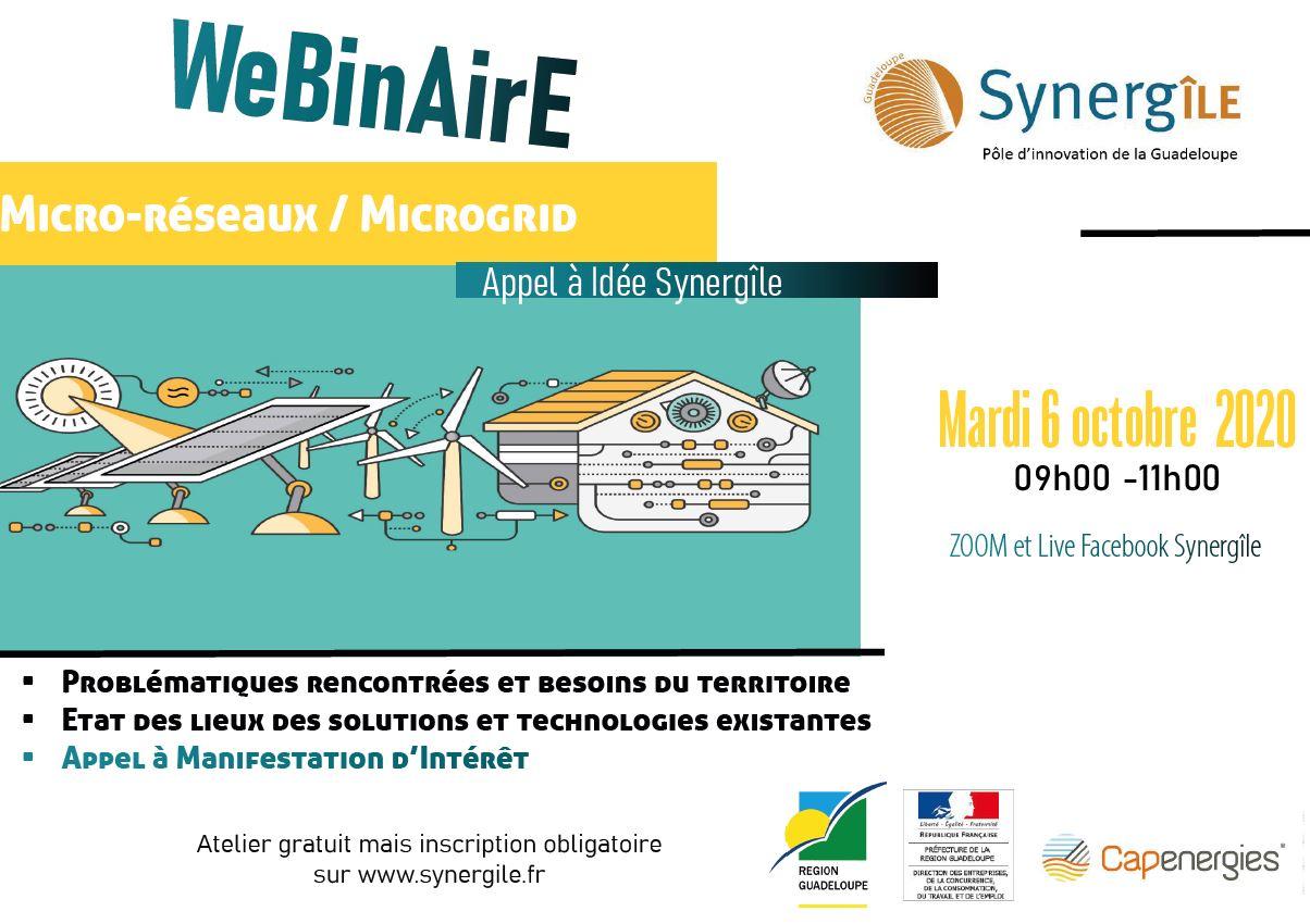 Webinaire micro-réseaux/Microgrids
