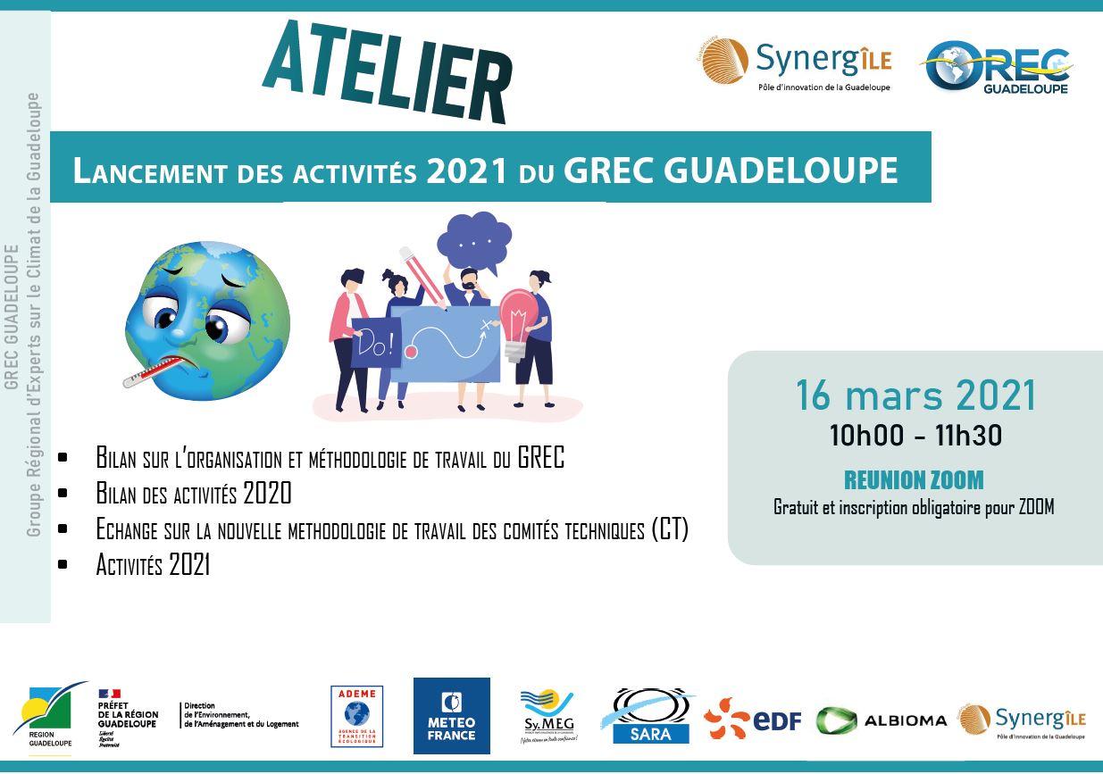 Lancement des activités 2021 du GREC Guadeloupe